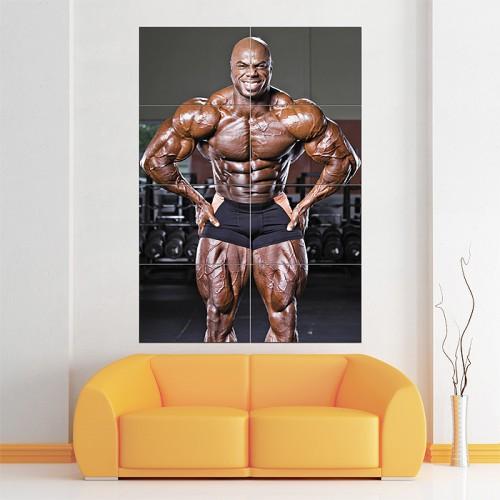 Toney Freeman - Posing Wand-Kunstdruck Riesenposter