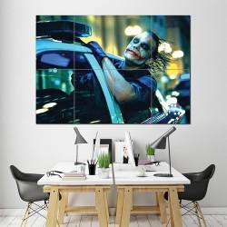Joker on Police Car Block Giant Wall Art Poster (P-1465)