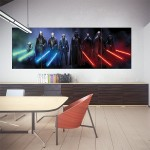 Jedi and Sith Star Wars Block Giant Wall Art Poster