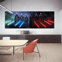 โปสเตอร์ ขนาดใหญ่ ภาพเจได สตาร์ วอร์ส Jedi and Sith Star Wars  (P-1467)