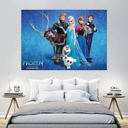 โปสเตอร์ ขนาดใหญ่ การ์ตูน Frozen Movie (P-1473)