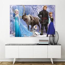 โปสเตอร์ ขนาดใหญ่ ภาพการ์ตูน Frozen Characters  (P-1474)