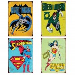 Batman ,Greenlantern,Superman,Wonderwoman Poster