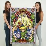 โปสเตอร์ ขนาดใหญ่ ภาพ The Legend of Zelda