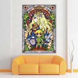 โปสเตอร์ ขนาดใหญ่ ภาพ The Legend of Zelda  (P-1486)
