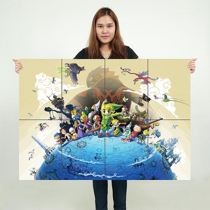 Legend Of Zelda Wind Waker Poster The Legend of Zelda th...