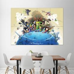 โปสเตอร์ ขนาดใหญ่ ภาพเกมส์ The Legend of Zelda the Wind Waker (P-1488)