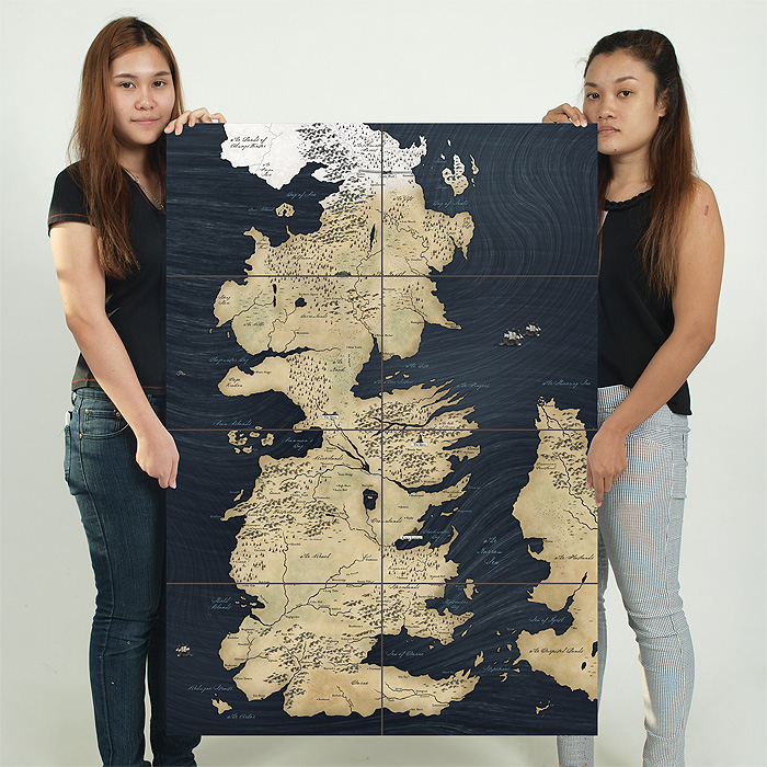 Of thrones world map block giant wall art poster game of thrones world map block giant wall art poster gumiabroncs Choice Image