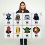 โปสเตอร์ ขนาดใหญ่ ภาพ สตาร์ วอร์ส Star Wars Identities