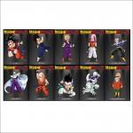 Dragon Ball Z character Wand-Kunstdruck Riesenposter