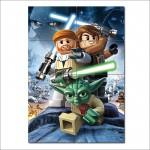 โปสเตอร์ ขนาดใหญ่ Lego Star Wars III The Clone Wars Game