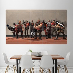 Team Fortress 2 Block Giant Wall Art Poster (P-1516)