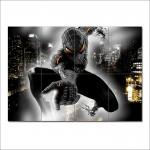 โปสเตอร์ ขนาดใหญ่ การ์ตูน Black Spiderman