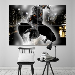 Black Spiderman Block Giant Wall Art Poster (P-1517)