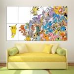 โปสเตอร์ ขนาดใหญ่ โปเกมอน Pokemon Pikachu