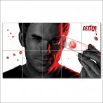 Dexter Blood Block Giant Wall Art Poster