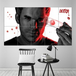 Dexter Blood Block Giant Wall Art Poster (P-1523)