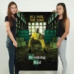 โปสเตอร์ ขนาดใหญ่ ภาพ Breaking Bad All Hail The King