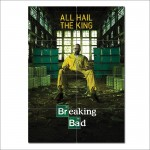 Breaking Bad All Hail The King Block Giant Wall Art Poster