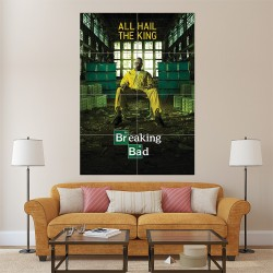 Breaking Bad All Hail The King Block Giant Wall Art Poster (P-1524)