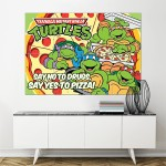 Teenage Mutant Ninja Turtles Block Giant Wall Art Poster