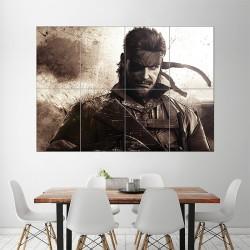 โปสเตอร์ ขนาดใหญ่ Metal Gear Solid Snake (P-1526)