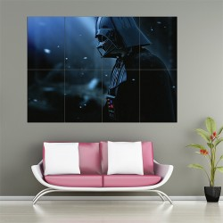 Darth Vader Star Wars Block Giant Wall Art Poster (P-1530)