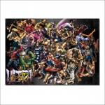 โปสเตอร์ ขนาดใหญ่ Street Fighter of Characters