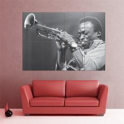 Miles Davis Wand-Kunstdruck Riesenposter (P-1534)