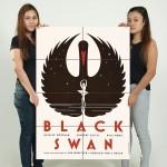 โปสเตอร์ ภาพยนตร์ ขนาดใหญ่ Black Swan Movie