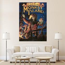 โปสเตอร์ ขนาดใหญ่ ภาพเกมส์ Monkey Island  (P-1540)