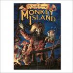 โปสเตอร์ ขนาดใหญ่ ภาพเกมส์ Monkey Island
