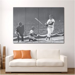 Ted Williams Baseball Block Giant Wall Art Poster (P-1544)