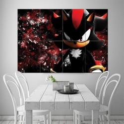 โปสเตอร์ ขนาดใหญ่ ภาพ Shadow The Hedgehog Sonic (P-1545)