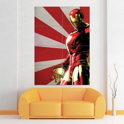 Iron Man Art Block Giant Wall Art Poster (P-1547)