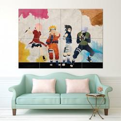 Naruto Art Block Giant Wall Art Poster (P-1548)