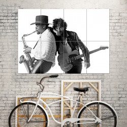 Born to Run - Bruce Springsteen Block Giant Wall Art Poster (P-1555)