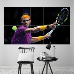 Rafael Nadal Block Giant Wall Art Poster (P-1556)