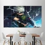 Kakashi Hatake Naruto Block Giant Wall Art Poster