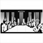 Bleach Espada Anime Art Block Giant Wall Art Poster