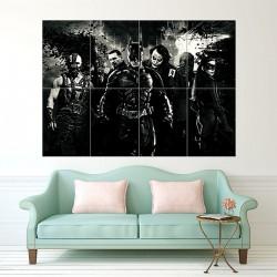 Batman Begins Movie Art Block Giant Wall Art Poster (P-1563)