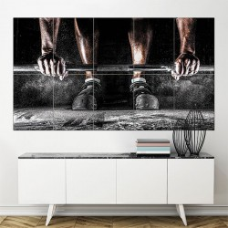 musculation Block Giant Wall Art Poster (P-1569)