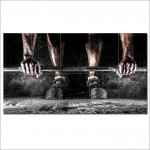 โปสเตอร์ ขนาดใหญ่ ภาพ ออกกำลังกาย musculation