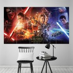 โปสเตอร์ ขนาดใหญ่ Star Wars The Force Awakens สตาร์ วอร์ส