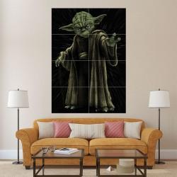 โปสเตอร์ ขนาดใหญ่ โยดา Yoda - Star Wars  (P-1573)