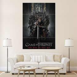 Game of Thrones Unbranded Block Giant Wall Art Poster (P-1575)