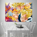 Dragon Ball Z Villains Block Giant Wall Art Poster