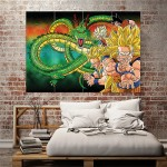 Dragon Ball Z Movie Block Giant Wall Art Poster