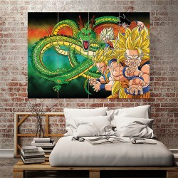 Dragon Ball Z Movie Block Giant Wall Art Poster (P-1579)