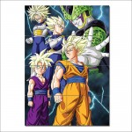 Cell Saga Kai - Dragon Ball Z Block Giant Wall Art Poster